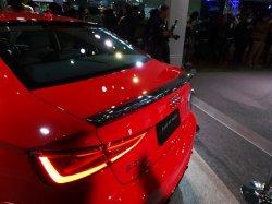 画像3: Audi純正S3/A3(8V)セダン専用カーボントランクスポイラー