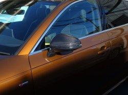 画像1: Audi純正NewA4/S4/A5/RS 5(8W)専用カーボンミラーハウジングセット