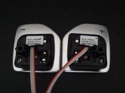 画像3: Audi純正A1(8X)用アルミ調ステアリングパドルセット