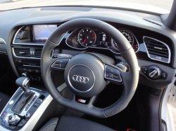 画像1: (FL後)Audi純正S4/A4(8K)用ハイグロスブラックメーターパネル