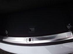 画像1: Audi純正S5/A5SB(8T)専用ステンレスクロスパネルトリム