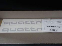 画像3: Audi純正クワトロステッカー2枚セット