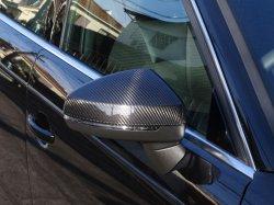 画像1: Audi純正RS 3/S3/A3(8V)専用カーボンミラーハウジングセット