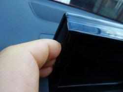 画像2: Audi純正A1(8X)FL用ハイグロスブラックスクリーントリム