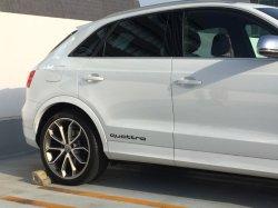 画像1: Audi純正クワトロステッカー2枚セット