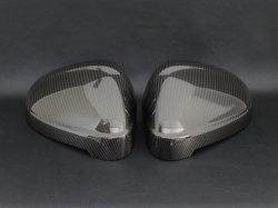 画像2: Audi純正A4(F4)/A5(F5)専用カーボンミラーハウジングセット