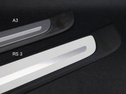 画像2: AudiAG純正RS 3(8V)専用リアシルプレート左右セット