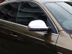 画像1: Audi純正Q3用RS Q3マットアルミ調ミラーハウジングセット