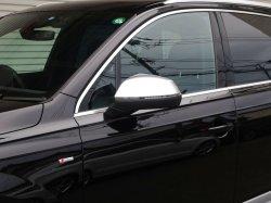 画像1: Audi純正S Q7/S Q5用アルミ調ミラーハウジングセット