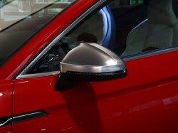 画像1: Audi純正S4(F4)/S5(F5)用アルミ調ミラーハウジングセット