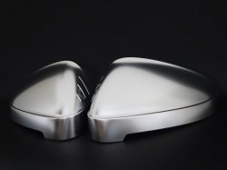 画像2: Audi純正NewS4(8W)/S5(F5)用アルミ調ミラーハウジングセット