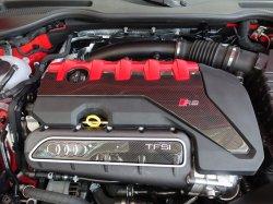 画像1: AudiAG純正FL後RS 3(8V)用カーボンエンジンコンパートメントカバー