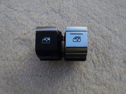 画像4: Audi純正A7(F2)用アルミ調パワーウィンドウスイッチセット