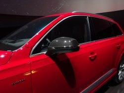 画像1: Audi純正S Q5/Q5(FY)用カーボンミラーハウジングセット