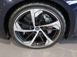 画像2: Audi純正RS 5(F5)用5アームトラペゾイドアンスラサイトブラックアルミセット