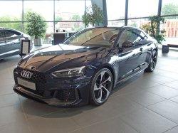 画像3: Audi純正RS 5(F5)用5アームトラペゾイドアンスラサイトブラックアルミセット