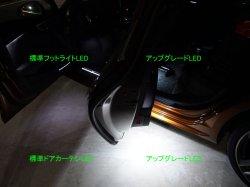画像1: Audi純正フット/ドアカーテシ/ラゲージ用アップグレードLEDバルブ