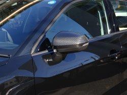 画像1: Audi純正S Q2/Q2(GA)用カーボンミラーハウジングセット