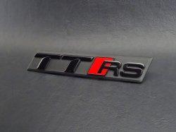 画像2: AudiAG純正TT RS(FV)グリル用ブラックエンブレム