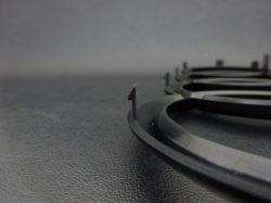 画像2: AudiAG純正Q7(4M)フロント用ブラック4Ringsエンブレム