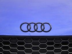 画像3: Audi純正GブラックTT(FV)フロント/Q2リア/R8_F用4Ringsエンブレム