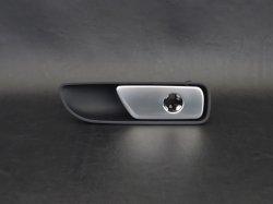 画像1: アウディ純正Q7(4M)用アルミ調グローブボックスOPレバー