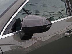 画像1: Audi純正Q3/RS Q3(F3)用カーボンミラーハウジングセット
