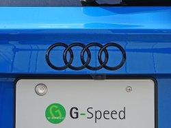 画像3: Audi純正Q3/RS Q3(F3)/A1(8X)リア用4Ringsブラックエンブレム