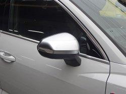 画像1: Audi純正RS Q3(F3)用アルミ調ミラーハウジングセット