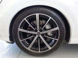 画像1: Audi純正Q7用21インチ10スポークスタイルアンスラブラックアルミホイールセット