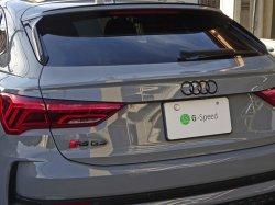 画像1: Audi純正Q3/RS Q3(F3)/A1(8X)リア用4Ringsブラックエンブレム