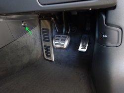 画像2: Audi純正A6/A7SB(F2)センターコンソール用ボルトカバーセット