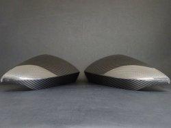 画像1: Audi純正RS 3/S3/A3(GY/8Y)専用カーボンミラーハウジングセット
