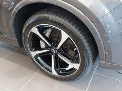 画像1: Audi純正Q7用21インチ5スポークブレードデザインアルミホイールセット