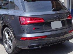 画像1: Audi純正リア用S Q5ブラックエンブレム