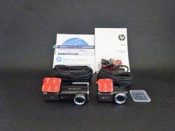 画像1: HP f920x ドライブレコーダー前後セット