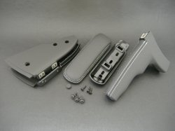 画像1: Audi純正TT(8J)用レザーサイドブレーキトリム