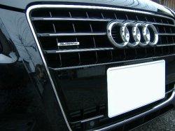 画像1: (FL前)Audi純正A4(8K)/A5専用グリルクロームストリップ
