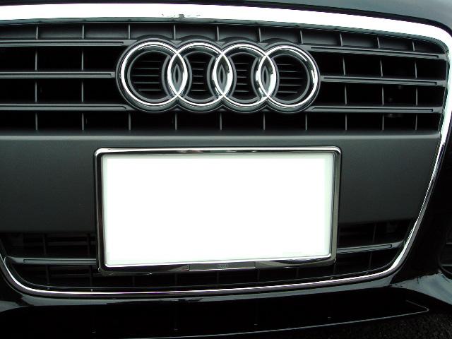 Audi純正ライセンスプレートホルダー G Speed Web Store